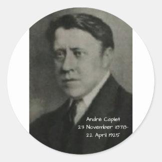 Adesivo Redondo Andre Caplet