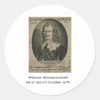 Adesivo Redondo Andreas Hammerschmidt
