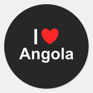 Adesivo Redondo Angola