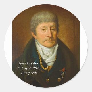 Adesivo Redondo Antonio Salieri