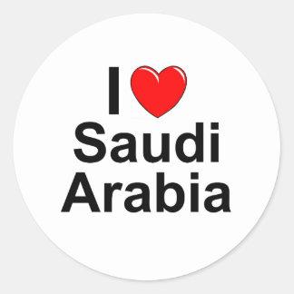 Adesivo Redondo Arábia Saudita