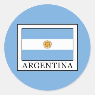 Adesivo Redondo Argentina
