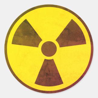 Adesivo Redondo Armas nucleares