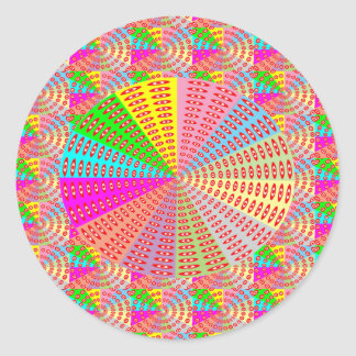 Adesivo Redondo Arte cura da faísca do círculo de Chakra por NAVIN