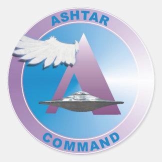 Adesivo Redondo Asthar Comand
