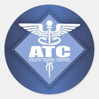 Adesivo Redondo ATC do Cad (diamante)