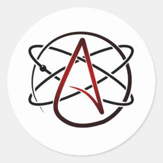 Adesivo Redondo Ateísmo