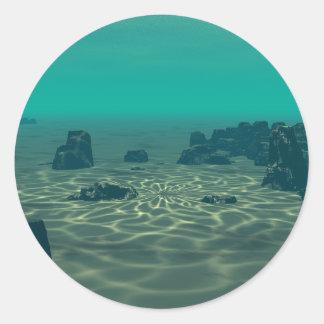 Adesivo Redondo Atlantis