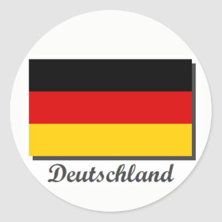 Adesivo Redondo Autocolante no vidro traseiro de Alemanha