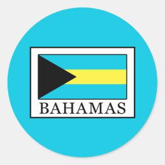 Adesivo Redondo Bahamas