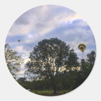Adesivo Redondo Balão de ar