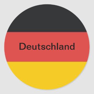 Adesivo Redondo Bandeira da alemanha de Alemanha