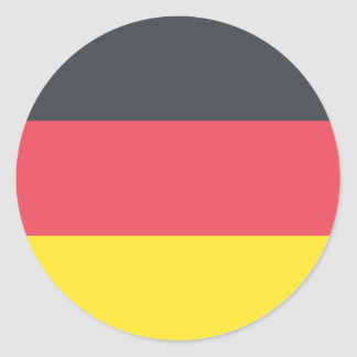 Adesivo Redondo Bandeira de Alemanha