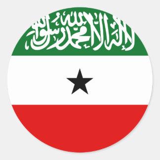 Adesivo Redondo Bandeira de Somaliland