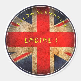 Adesivo Redondo Bandeira inglesa