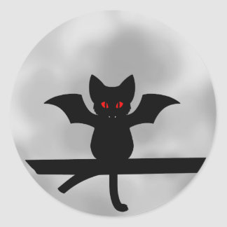 Adesivo Redondo BatCat