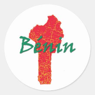 Adesivo Redondo Benin