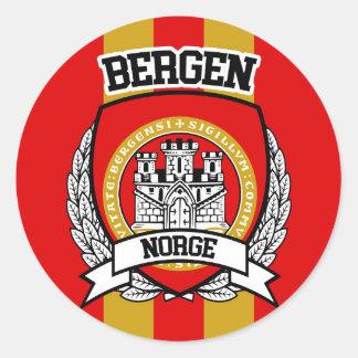 Adesivo Redondo Bergen