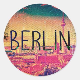 Adesivo Redondo Berlin, circle