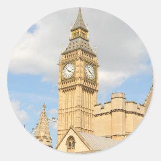 Adesivo Redondo Big Ben em Londres