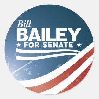 Adesivo Redondo Bill Bailey