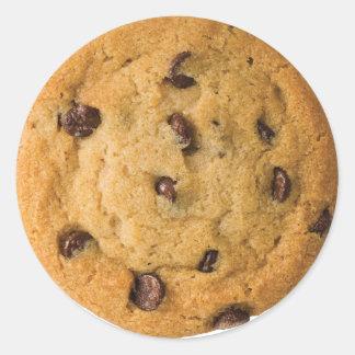 Adesivo Redondo Biscoito