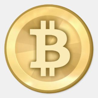 Adesivo Redondo Bitcoin