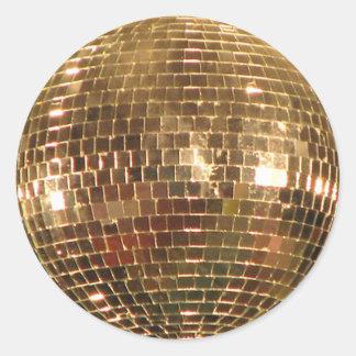 Adesivo Redondo Bola espelhada 2 do disco