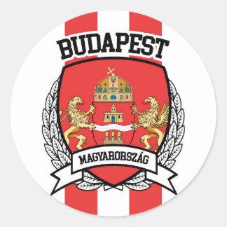 Adesivo Redondo Budapest