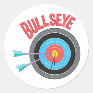 Adesivo Redondo Bullseye