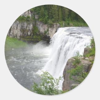 Adesivo Redondo Cachoeiras