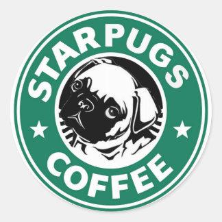 Adesivo Redondo Café de Starpug