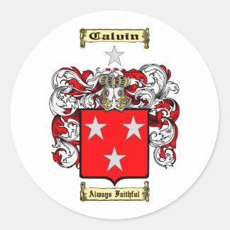 Adesivo Redondo Calvin