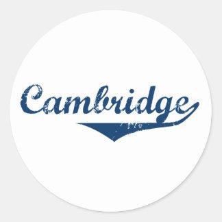 Adesivo Redondo Cambridge