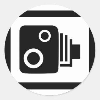 Adesivo Redondo Câmera de Sopeed