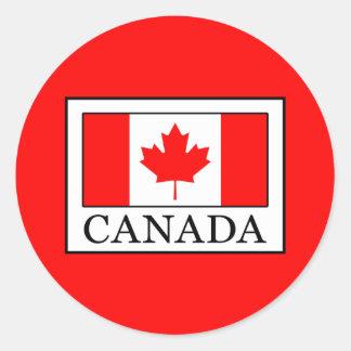 Adesivo Redondo Canadá