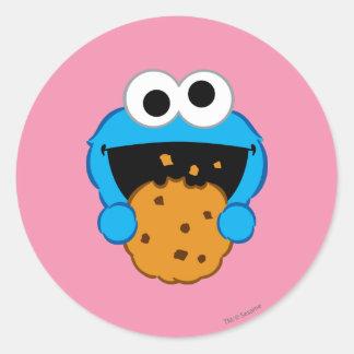 Adesivo Redondo Cara do biscoito