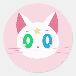 ADESIVO REDONDO CAT STAR