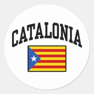 Adesivo Redondo Catalonia