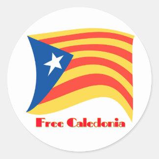 Adesivo Redondo Catalonia livre