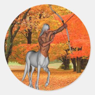 Adesivo Redondo Centauro