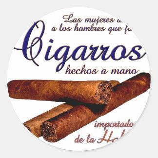 Adesivo Redondo Cigarros - Cirars