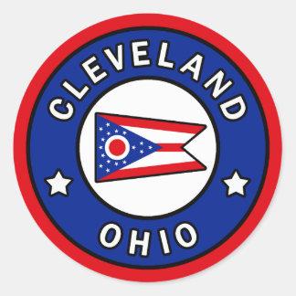 Adesivo Redondo Cleveland Ohio