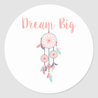 Adesivo Redondo Coletor ideal grande ideal de Dreamcatcher no