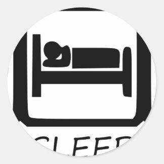 ADESIVO REDONDO COMA SLEEP3