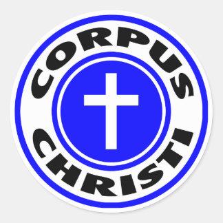 Adesivo Redondo Corpus Christi