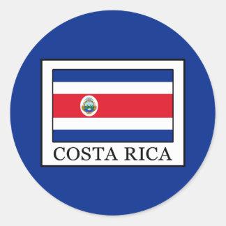 Adesivo Redondo Costa Rica