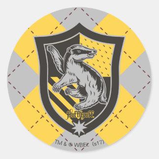 Adesivo Redondo Crista do orgulho da casa de Harry Potter |