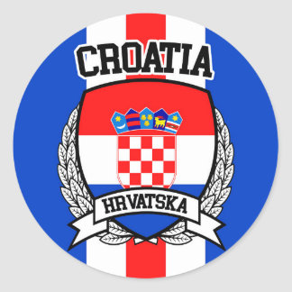Adesivo Redondo Croatia