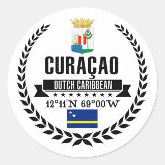Adesivo Redondo Curaçao